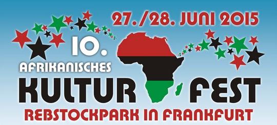 10. Afrikanisches Kulturfest Rebstockpark 2015